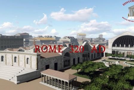 Roma antică în 3d