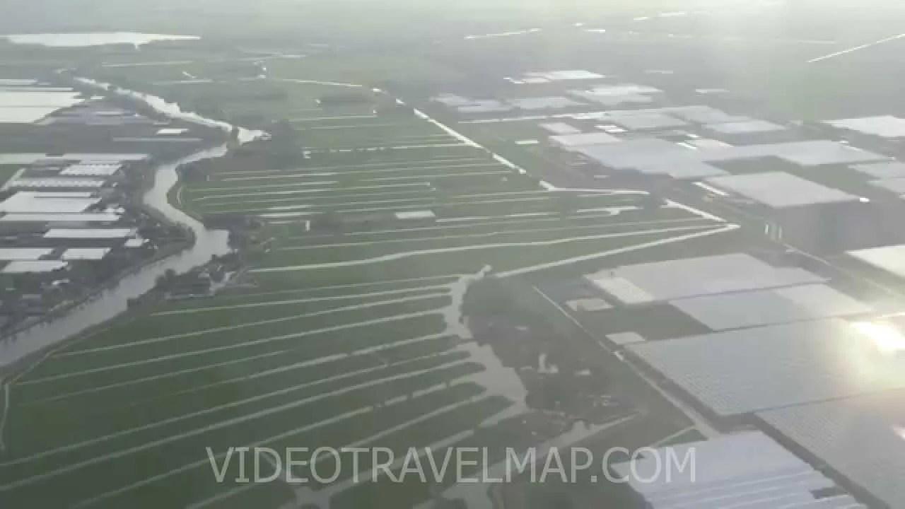Holandia z pokładu samolotu » Jack Podróżnik