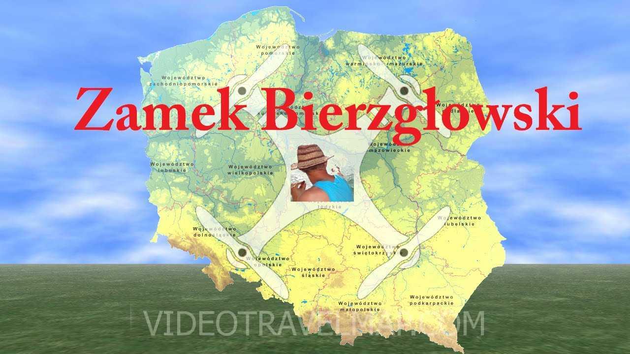 Zamek Bierzgłowski z drona 1