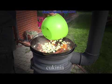 Gotujemy we woku gulasz wielomięsny 1