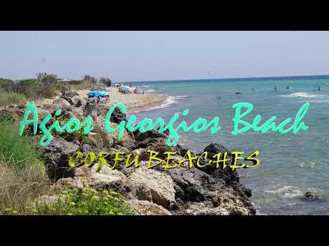 Plaże na Korfu - Agios Georgios Beach 6