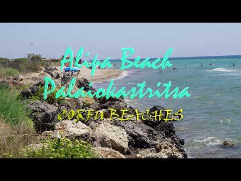 Plaże na Korfu Alipa Beach 2