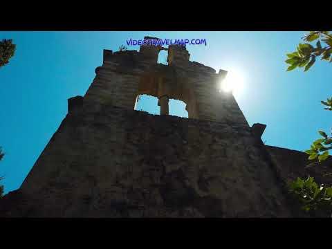 Ruiny klasztoru w Arkoudilas na Korfu 2