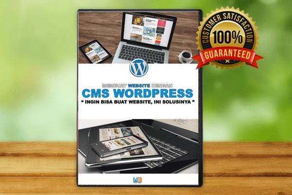 Video Tutorial Membagun Website Propesional Dengan CMS WordPress