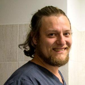 Албул Андрей Владимирович. Ветеринарный врач, невролог и нейрохирург. Специалист в области электродиагностики нервной системы.