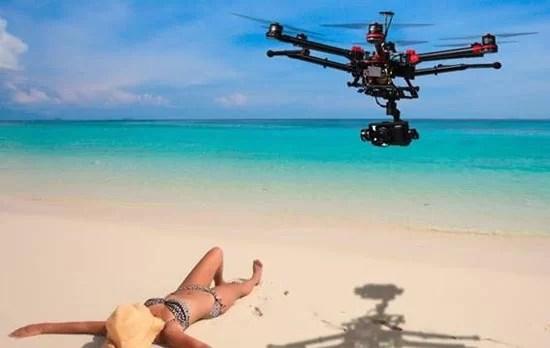 servicio de video o fotografía con drone