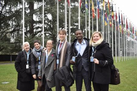 Theresa Nguyen at UN