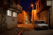 nächtliche Gasse Sanjan/nocturnal alley in Sanjan