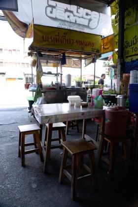Mittagspause in der Strassenküche/lunch at a street restaurant