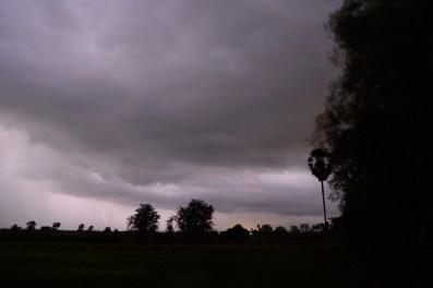 Langzeitbelichtung während Gewitter/longtime exposure while lightning