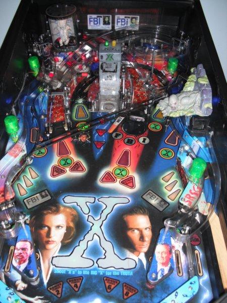 VidiotArcadecom  2011  Sega XFiles Pinball