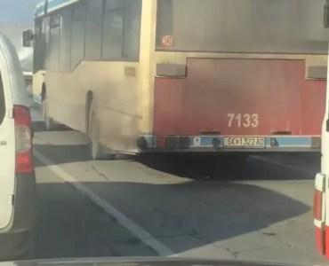 Автобус што загадува