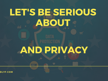 Let's Be Serious About Data Protection and Privacy, VidLyf.com
