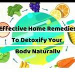 Home remedies to detoxify your body, VidLyf.com