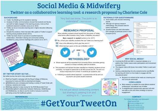 poster: Social media & midwifery