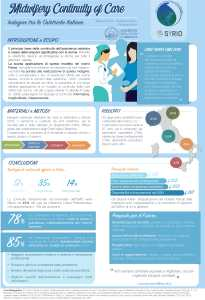 Poster: Midwifery Continuity Care: Survey among Italian midwives (Italian)