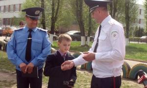 9-річний хлопчик допоміг міліціонерам розшукати злочинця - original 1367481413