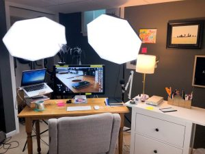 setup studio vidpromom plan starting scratch camera