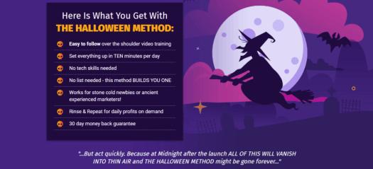 The Halloween method heading