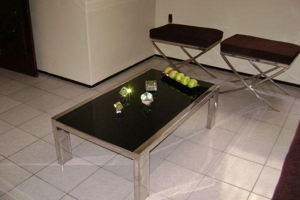 Mesa de Centro mtc 04  Loja de vidro e ao