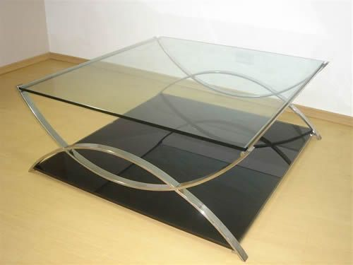 Mesa de Centro mtc 07  Loja de vidro e ao