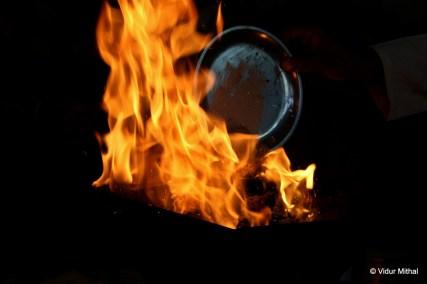 Photograph of a Blaze
