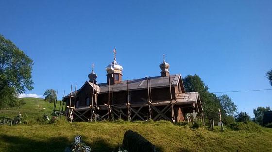 Церква після реставрації