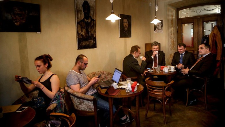 """Svit Kavy"" cafe in Lviv"