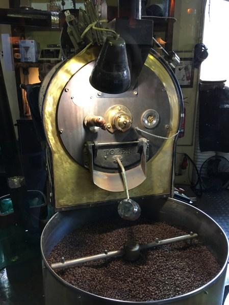 Обсмаження кави