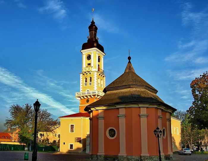 The Town Hall and the Armenian Well in Kamianets