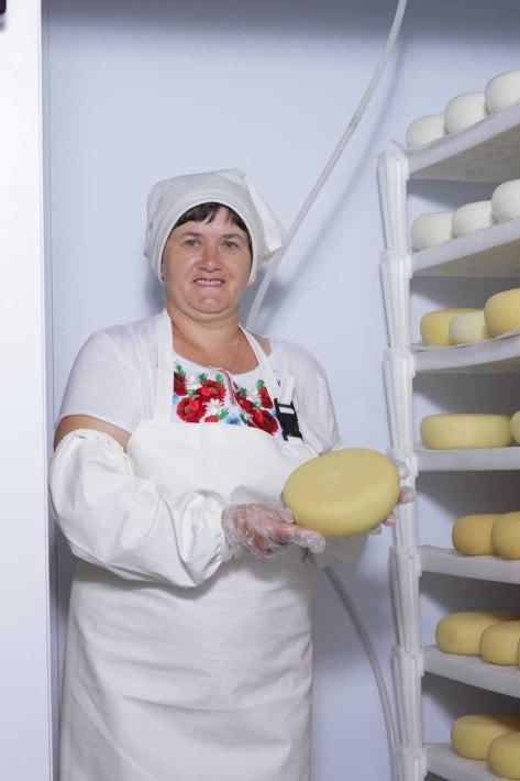 "Cheese factory ""Baranovo"" in Iza village"