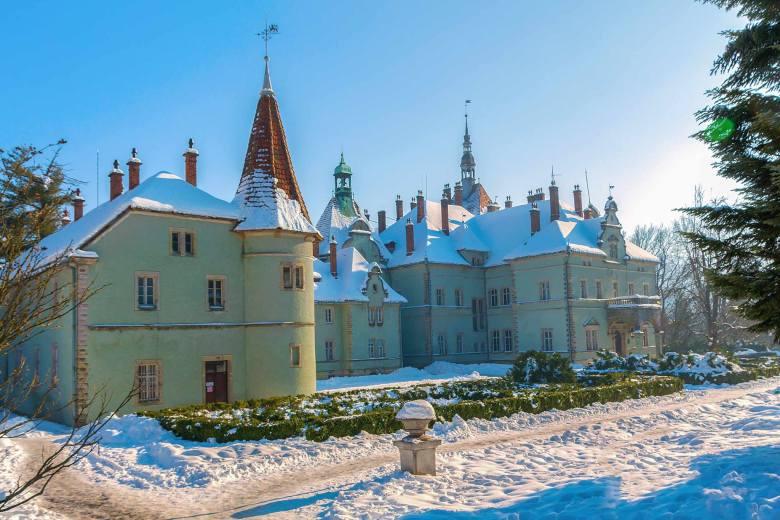 Мисливський палац графів Шенборнів (фото Юрій Крилівець)