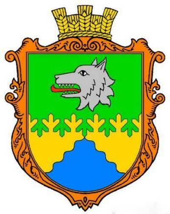 Герб села Волчье