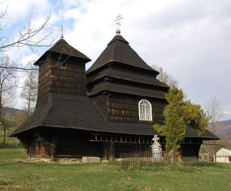St. Michael church in Uzhok village