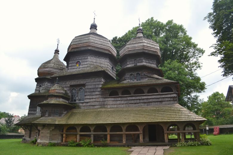 St. George's wooden church