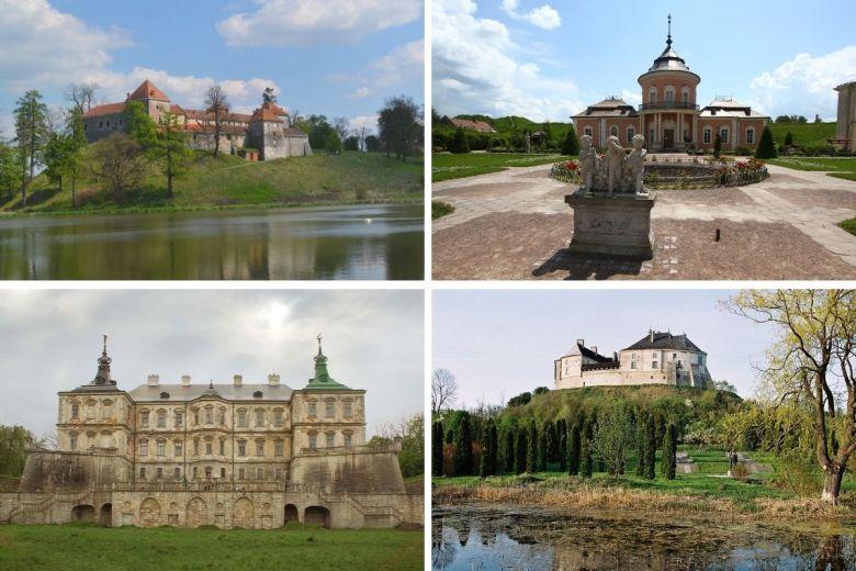Castles near Lviv