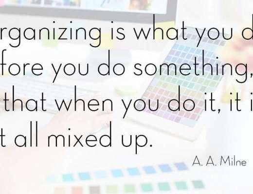 Organized home Organized you