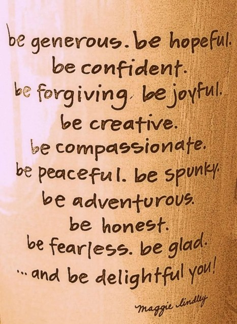 Joy and Inspiration