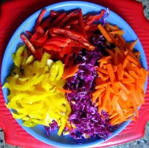 Salads for elevating energy levels