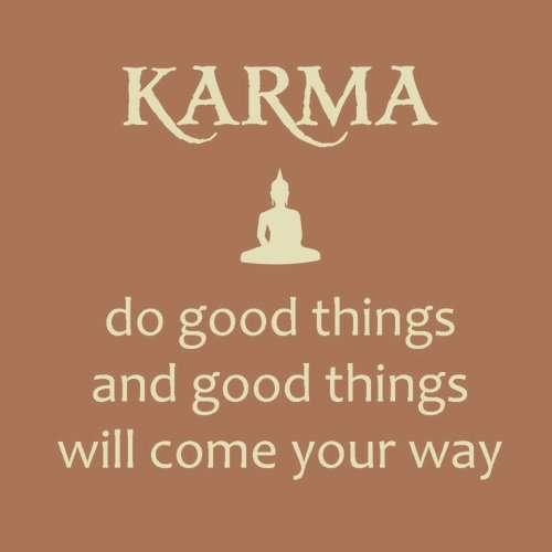 Karma Theory Do good