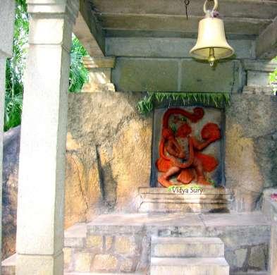 Recipe for Happiness Hanuman Temple