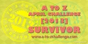 Vidya Sury #AtoZChallenge 2013