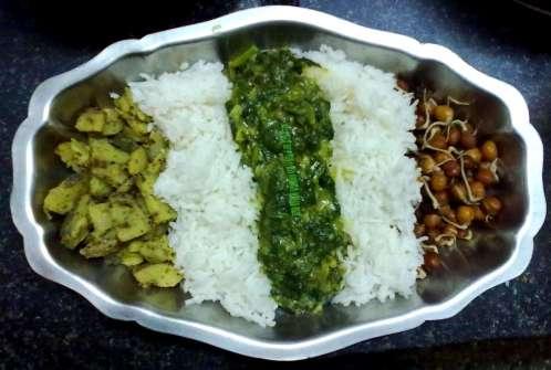 Vidya Sury Dishing Out happiness Lunch