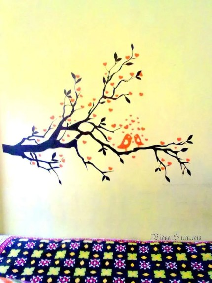 Kwikdeko wall decals giveaway Vidya Sury