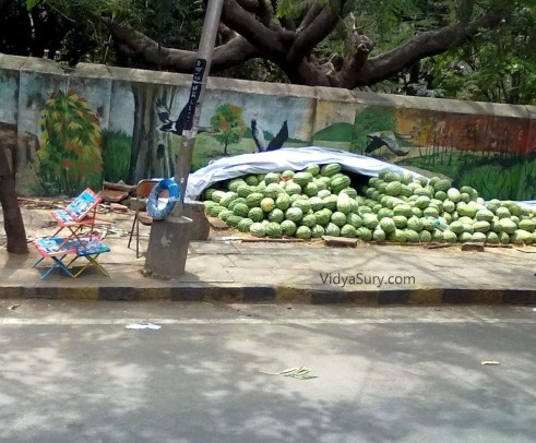 you know it is summer when watermelons