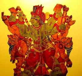 Leather Puppetry Vidya Sury