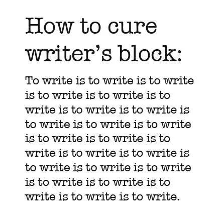 writers block vidya sury