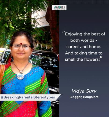 vidya sury encouragement
