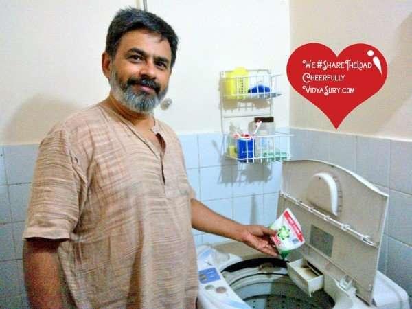 laundry #sharetheload vidya sury