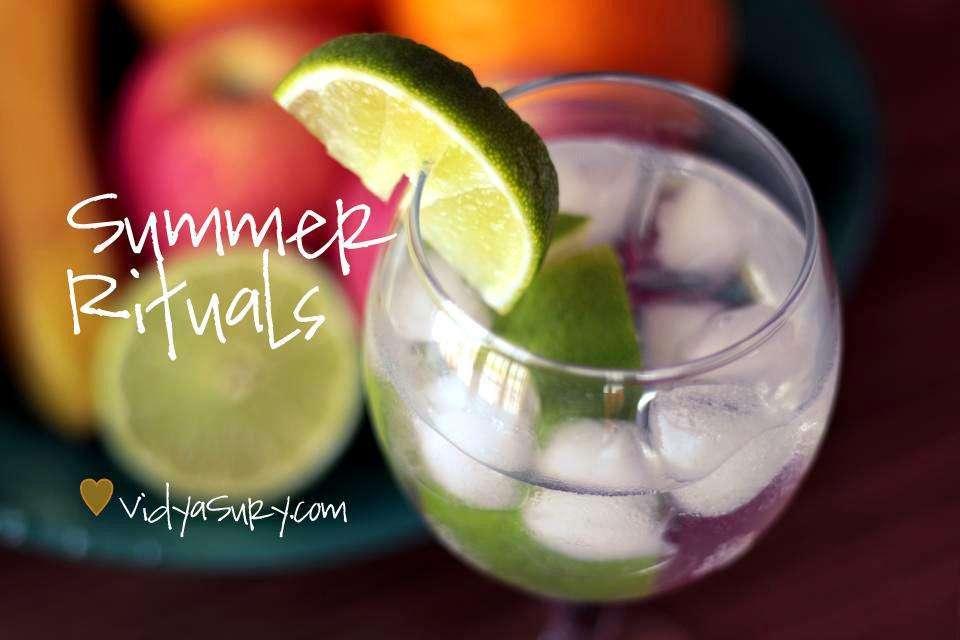 summer rituals vidya sury